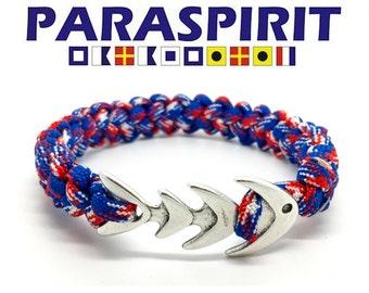"Paraspirit ""Bad to the Bone"" Nautical Rope Bracelet"
