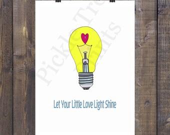 Let Your Little Love Light Shine