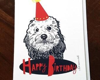 Doodle Happy Birthday Card