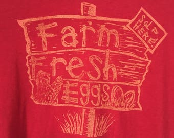 Farm fresh eggs shirt