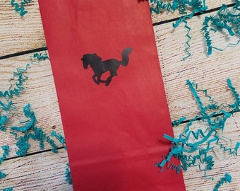 Western Party Treat Favor Bags - Birthday Party - Plates, Cups, Napkins - Cowboy Birthday - Cowgirl Party - Western Wedding - Balloons