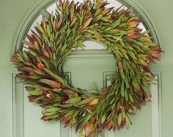 "Safari Sunset Wreath- 20"""