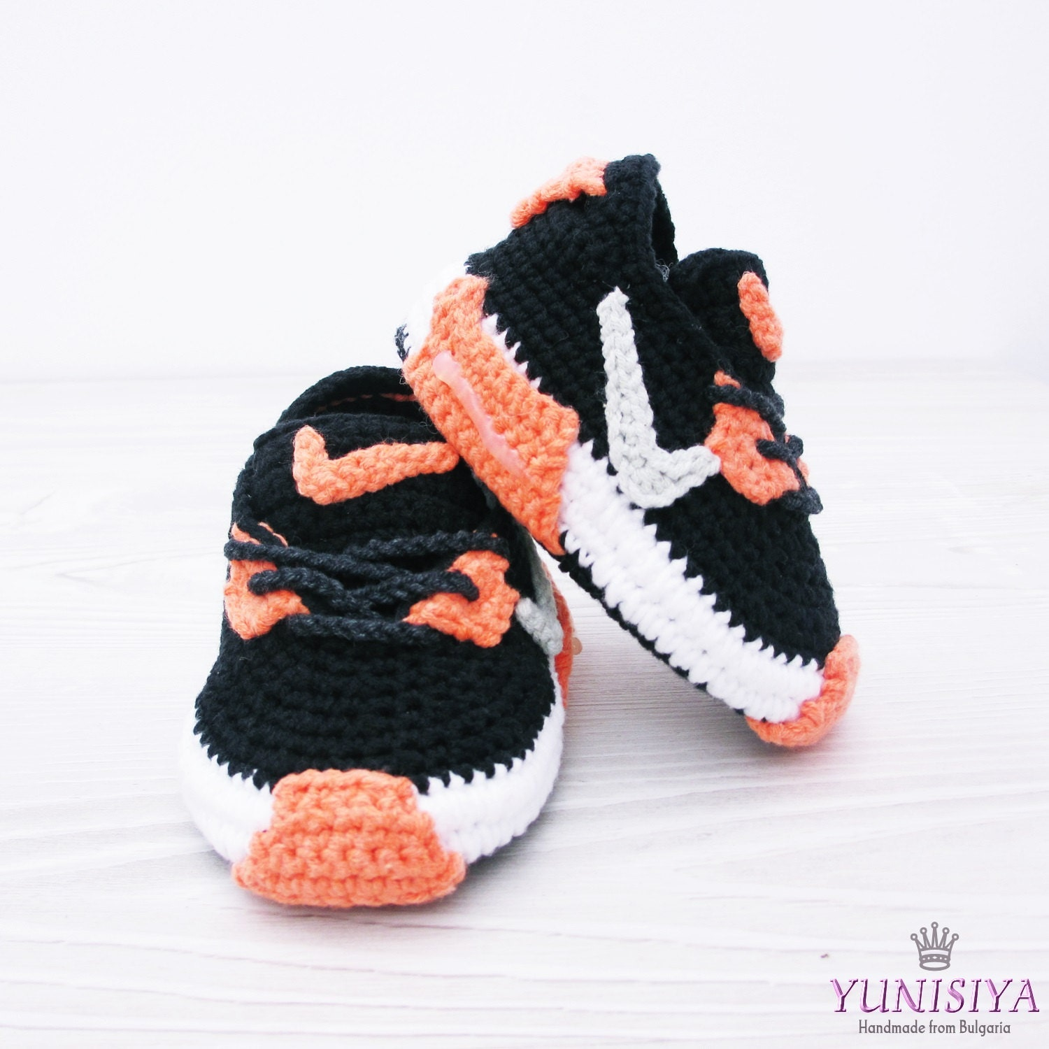 Crochet Baby Shoes Baby Street Shoes Baby Booties Athletic