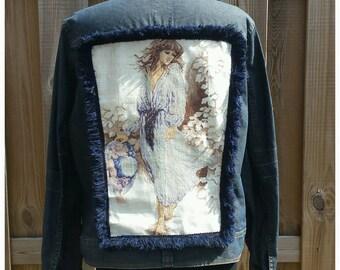 XXL Embellished Jacket Coat * EMBROIDERED WOMAN* Boho