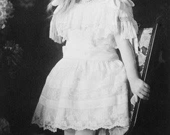 Grand Duchess Anastasia in 1906, Imperial Russia, Early 1900's