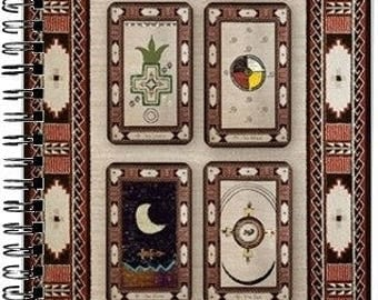 Native American JOURNAL with 6 TAROT SPREADS!!