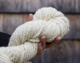 Handspun Romney Cotswold Yarn