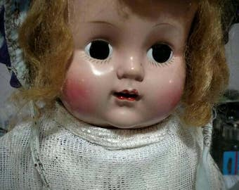 Bell~ The Quadriplegic dollie~ sad oddity doll creepy and sweet