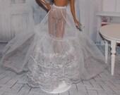 Barbie Clothes. Vintage Petticoat / Crinoline Slip. Newly DeBoxed Petticoat by  Mattel.  Vintage Barbie Clothes.  Barbie Christmas Clothes
