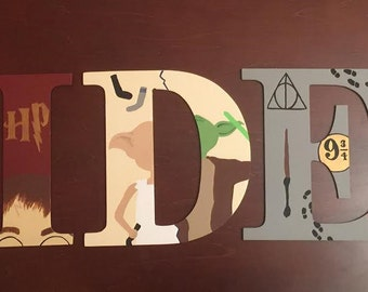 Harry Potter/Star Wars Letters
