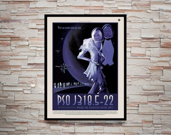 Reprint of a NASA/JPL SpaceX Poster