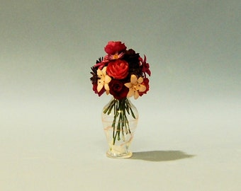 1 inch scale miniature-Floral Arrangement