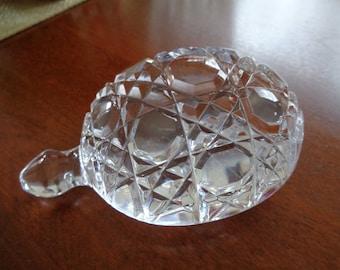 Waterford Crystal Turtle