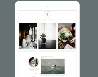 Minimal Wordpress Blog Theme - Responsive Wordpress Design - Genesis Child Theme - Balance