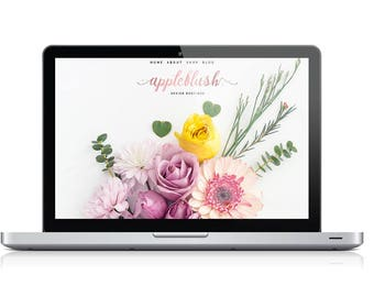 Custom Blog, Logo, and Branding Design. The Total Package