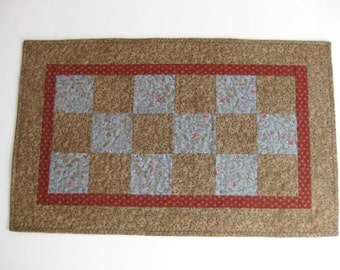 Quilted Table Runners, Patchwork  Table Runner