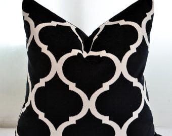 Black Velvet Pillow Cover,Geometric Velvet Pillow Cover,Moroccan Patterned Velvet Pillow Cover,Patterned Velvet Pillow Cover
