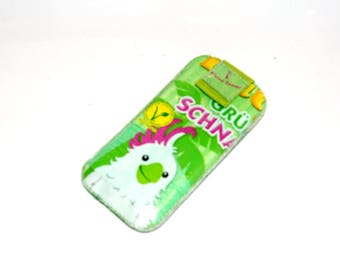 Cell phone cover with plaster effect size SL for SE iPhone, iPhone 5, etc.
