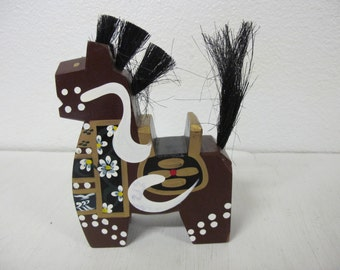 Japanese Wooden Horse Japanese Folk Art Chagu-chagu Umako horse Japanese mingei