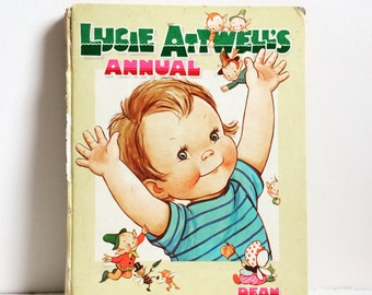 Mabel Lucie Attwell annual vintage children's book 1960s