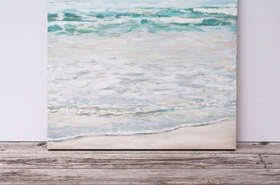 "Original 18x24 Painting ""Gentle Tide"" FREE SHIPPING"