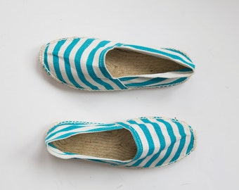 Striped Island Vintage Espadrilles