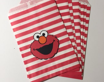 Elmo Favor/Treat Bags