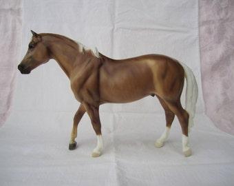 Breyer Model Horse Dappled Palomino Stock Horse