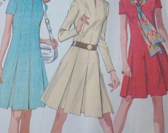 1970s Sewing Pattern Dress size 16 McCalls 2463