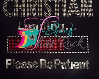 Christian Loading Please Wait Tee© 2016. All Rights Reserved