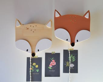 Children and nursery lamp Fox