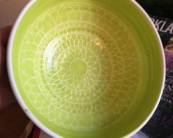 Design carved bowl