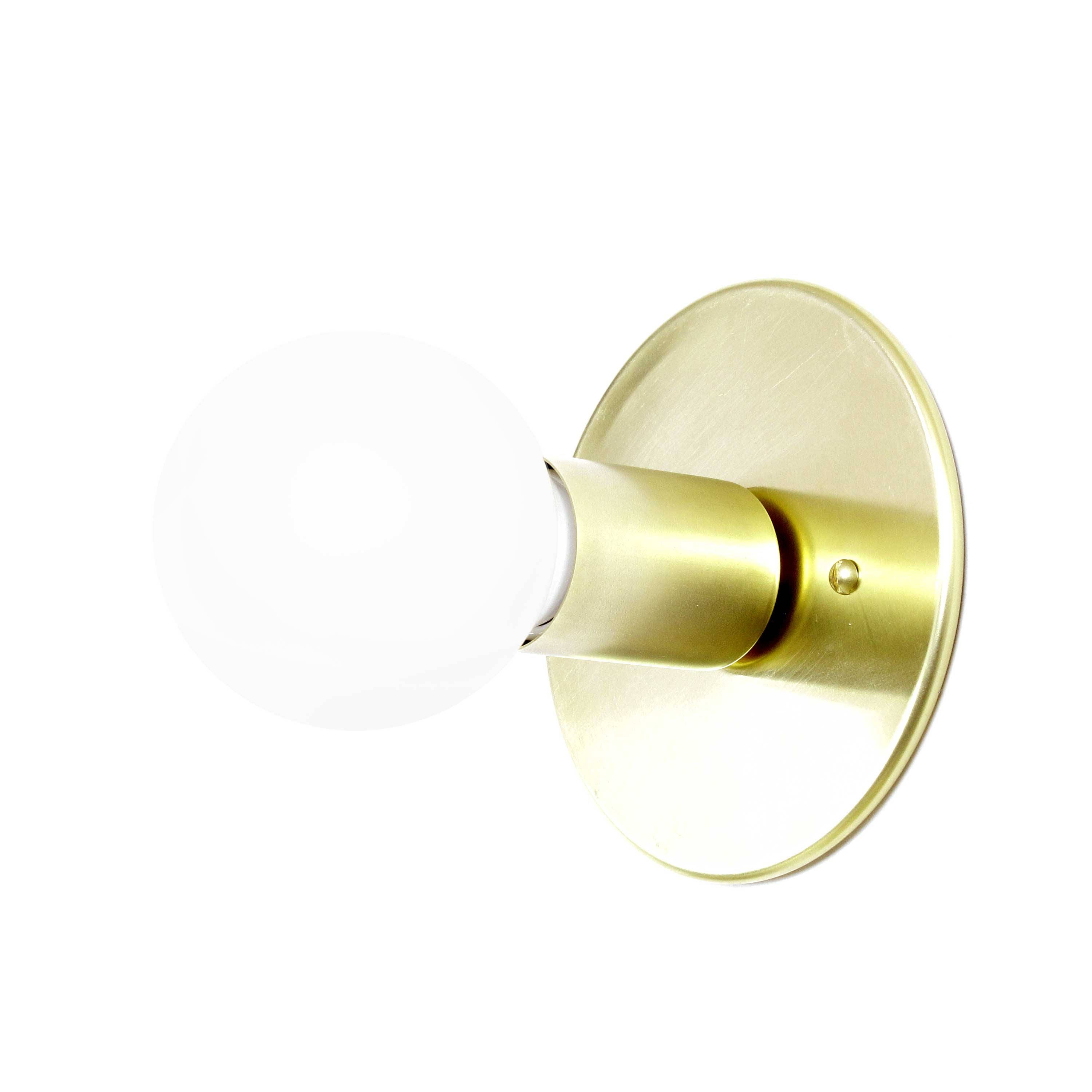 Wall Sconces Low Profile : Low Profile flush mount wall sconce ceiling mount