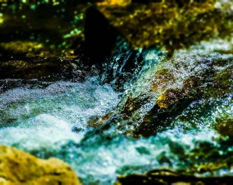 8x10 Creek waterfall