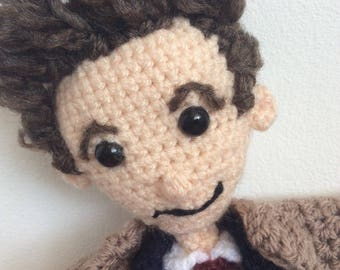 Crochet David Tennent as Doctor Who