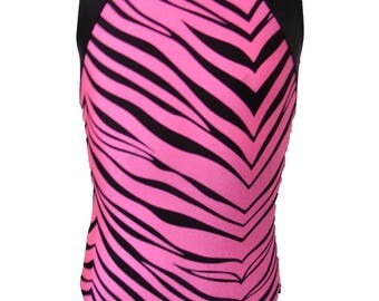 GYMNASTICS LEOTARDS ( wild zebra)