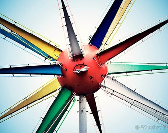 Roto-Sphere - Neon Sputnik Photograph