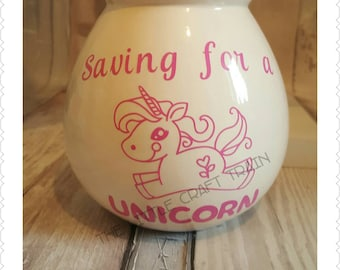 Saving for a unicorn money box /unicorns / gift for children /saving/money box