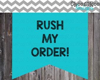 ChoosaRoo * RUSH order - Special Listing