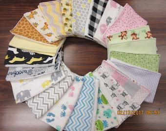 Single Burp Cloth, Set of 3 Burp Cloths, Terry Burp Cloths, Flannel Burp Cloths, Monogrammed Burp Cloths