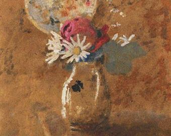 Bouquet of Flowers PDF Cross Stitch Pattern