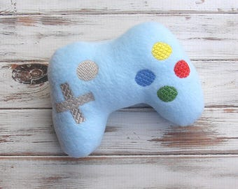 Nerd Baby Gift, Plush - Game Controller, Video Game Control, Stuffed Toy