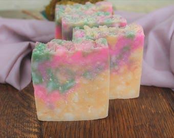 Tuscany Soap Bars - All Natural Homemade Soap Bars made with Shea Butter & Kaolin Clay