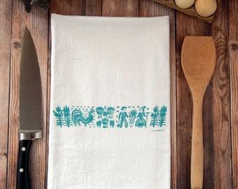 Pyrex Butterprint Tea Towel
