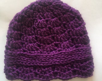 Baby girl flapper hat
