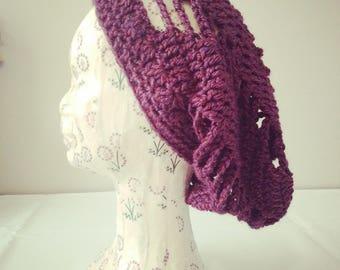 Spiral Crochet Boho Beanie