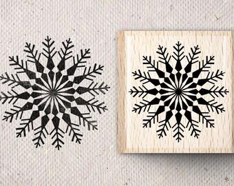 Stamp with snowflake Sjoukje X 5,0 x 5,0 cm
