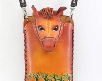 Horse cell phone case