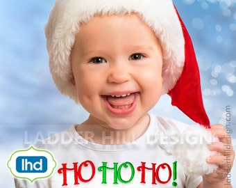 Ho Ho Ho Embroidery Design -- HO HO HO Christmas Embroidery Design -- Ho Ho Ho Embroidery Chr002