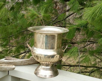 International Silver Company Silver Two Handle Champagne Bucket